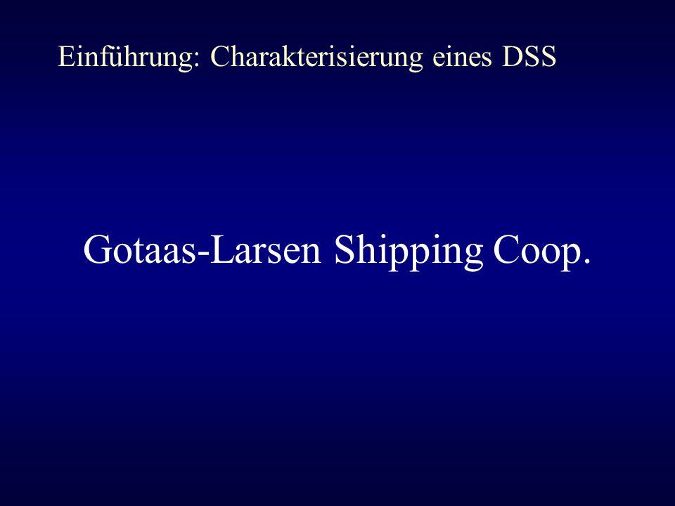 Gotaas-Larsen Shipping Coop.