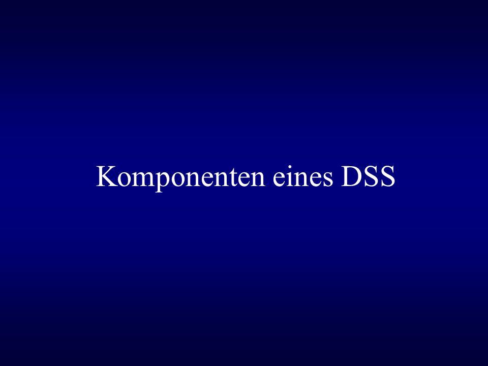 Komponenten eines DSS