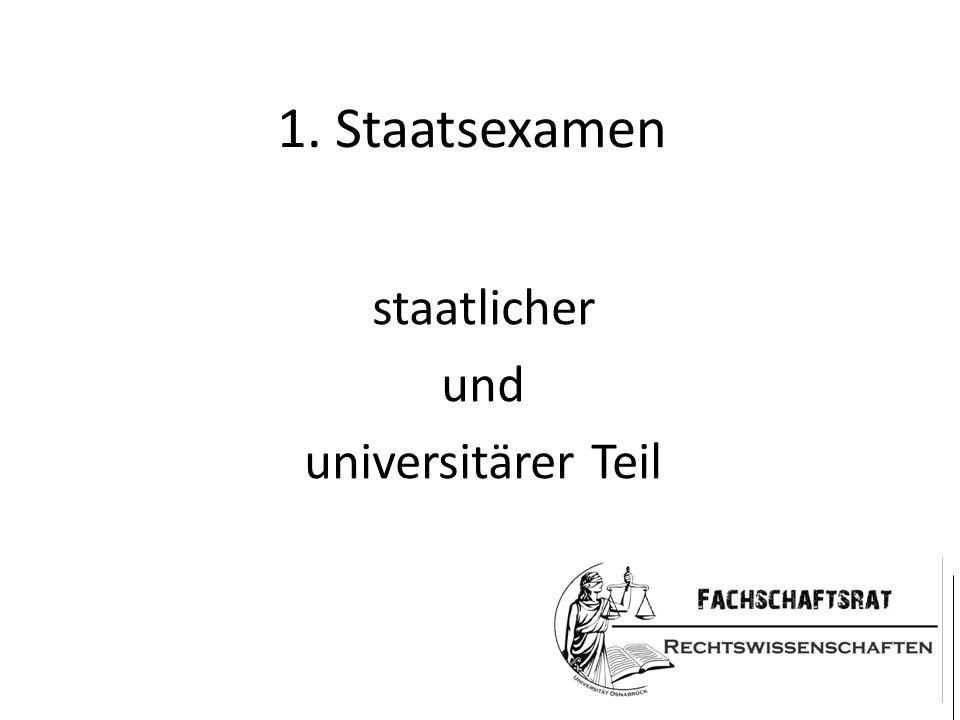 staatlicher und universitärer Teil
