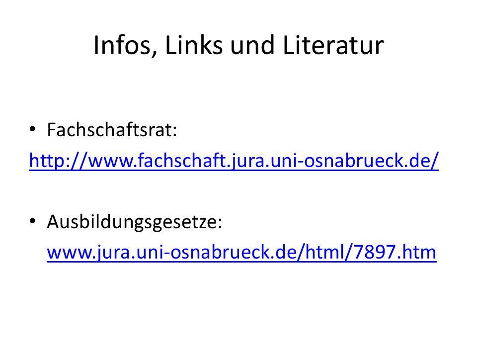 Infos, Links und Literatur