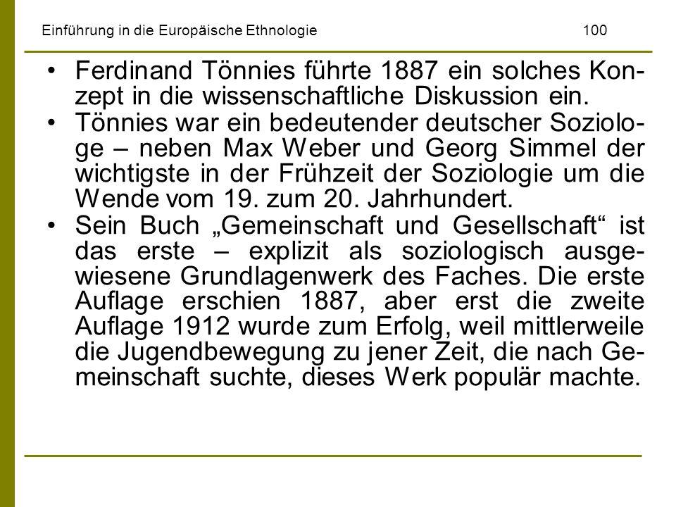 Einführung in die Europäische Ethnologie 100
