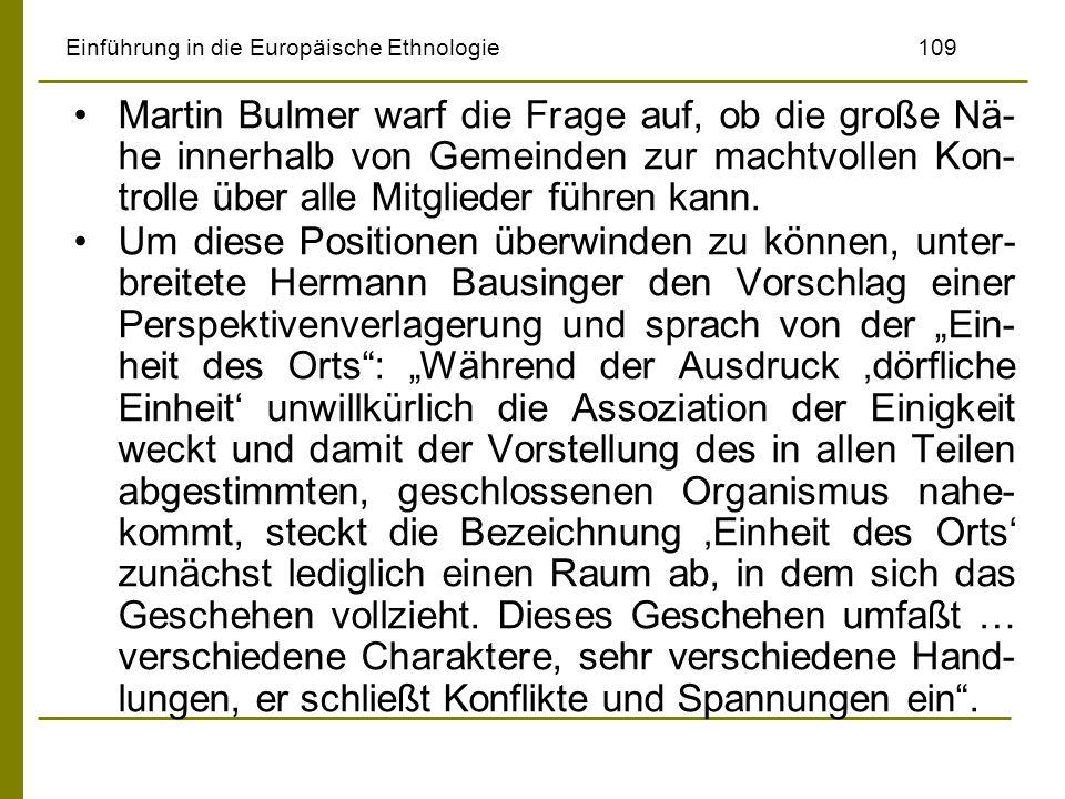 Einführung in die Europäische Ethnologie 109