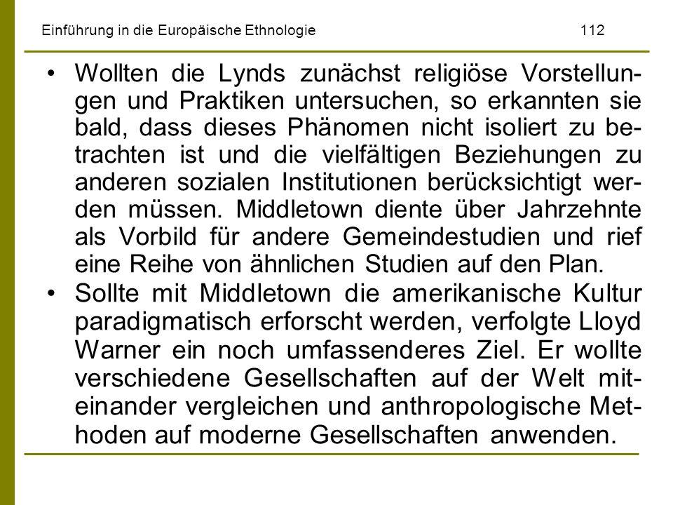 Einführung in die Europäische Ethnologie 112