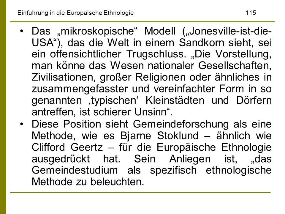 Einführung in die Europäische Ethnologie 115