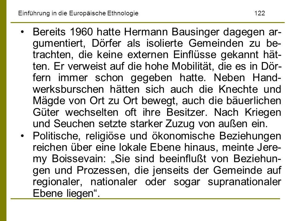 Einführung in die Europäische Ethnologie 122