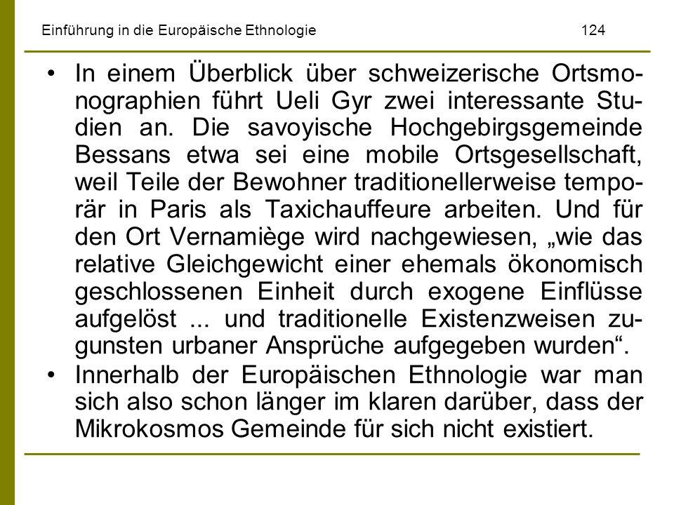 Einführung in die Europäische Ethnologie 124