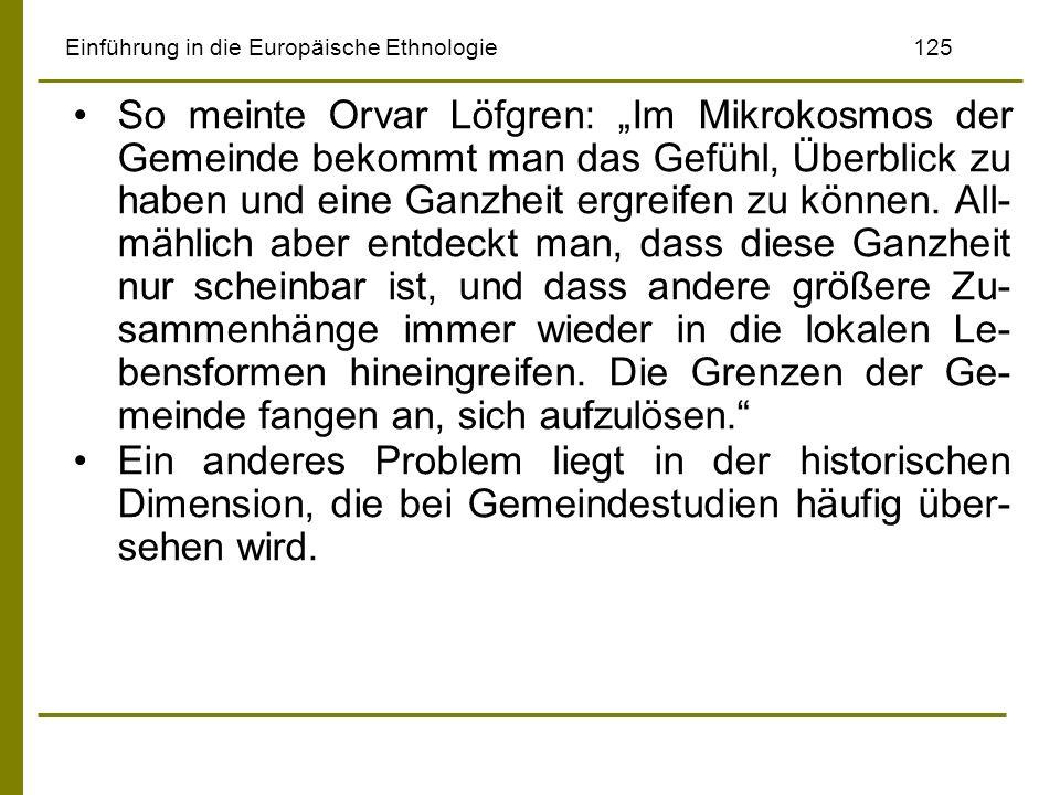Einführung in die Europäische Ethnologie 125