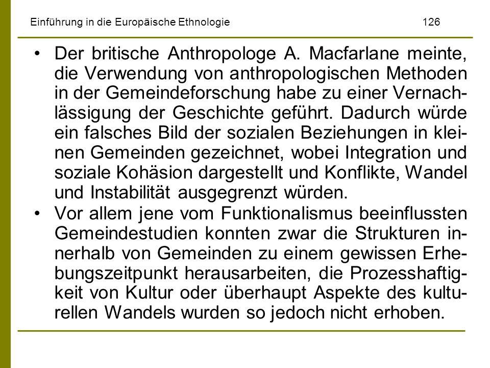 Einführung in die Europäische Ethnologie 126