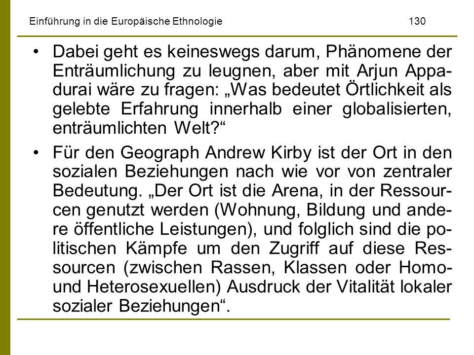 Einführung in die Europäische Ethnologie 130
