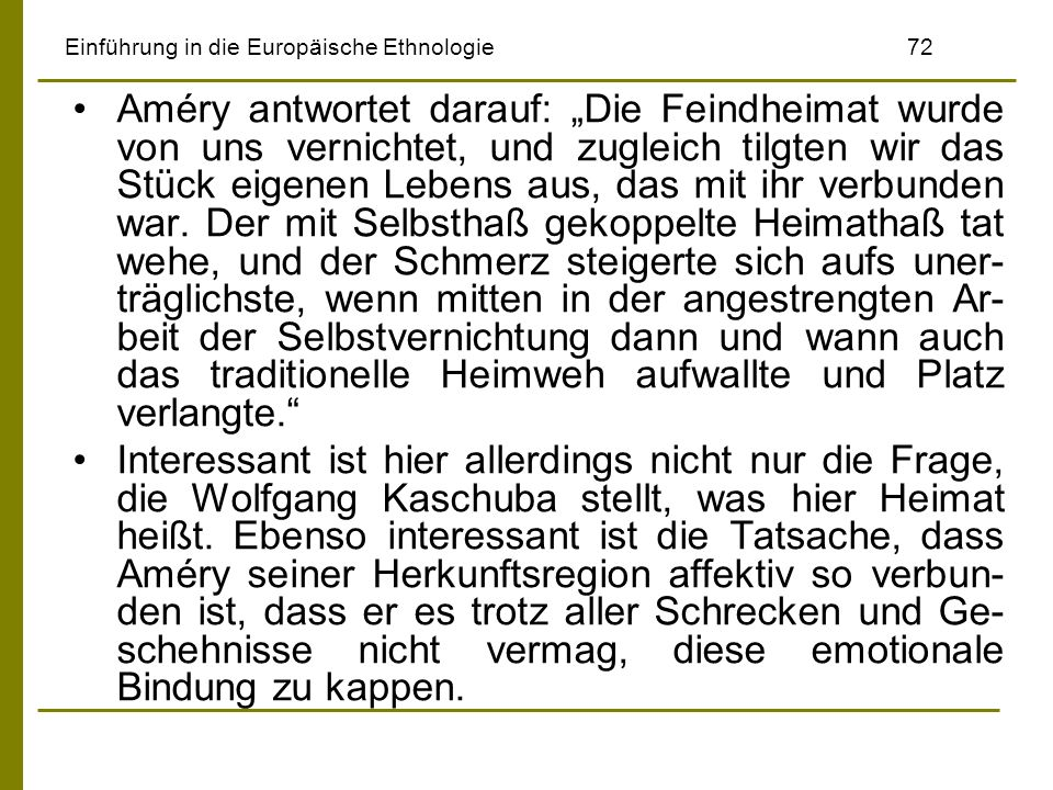 Einführung in die Europäische Ethnologie 72