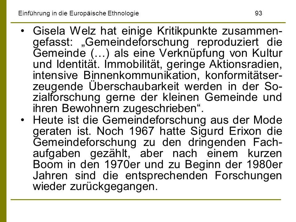 Einführung in die Europäische Ethnologie 93