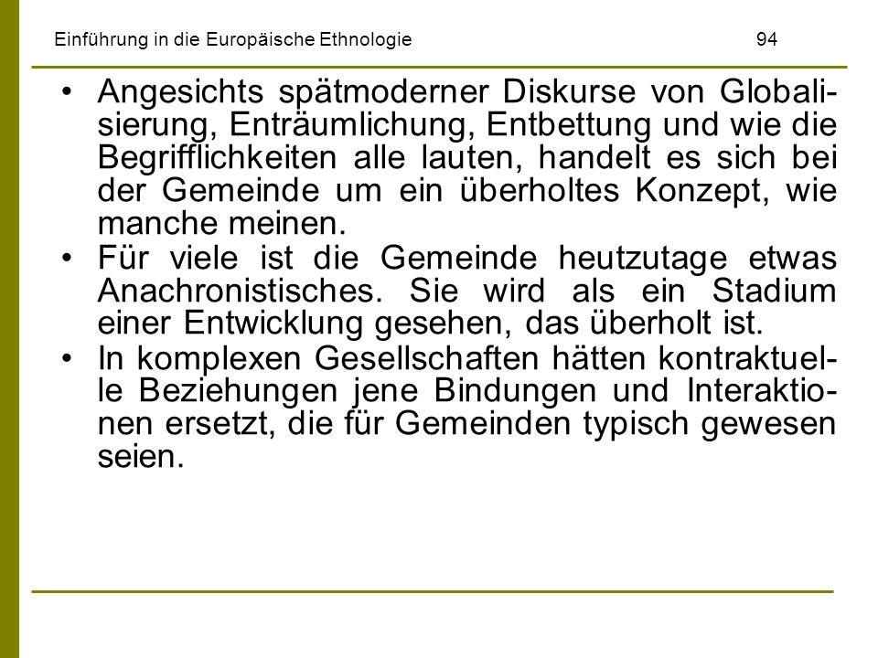 Einführung in die Europäische Ethnologie 94