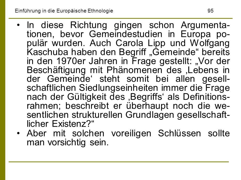 Einführung in die Europäische Ethnologie 95