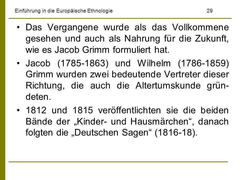 Einführung in die Europäische Ethnologie 29