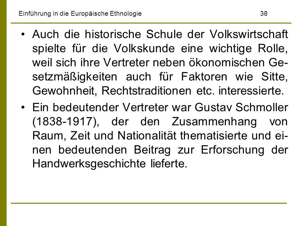 Einführung in die Europäische Ethnologie 38