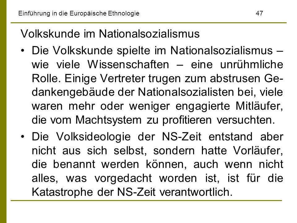 Einführung in die Europäische Ethnologie 47