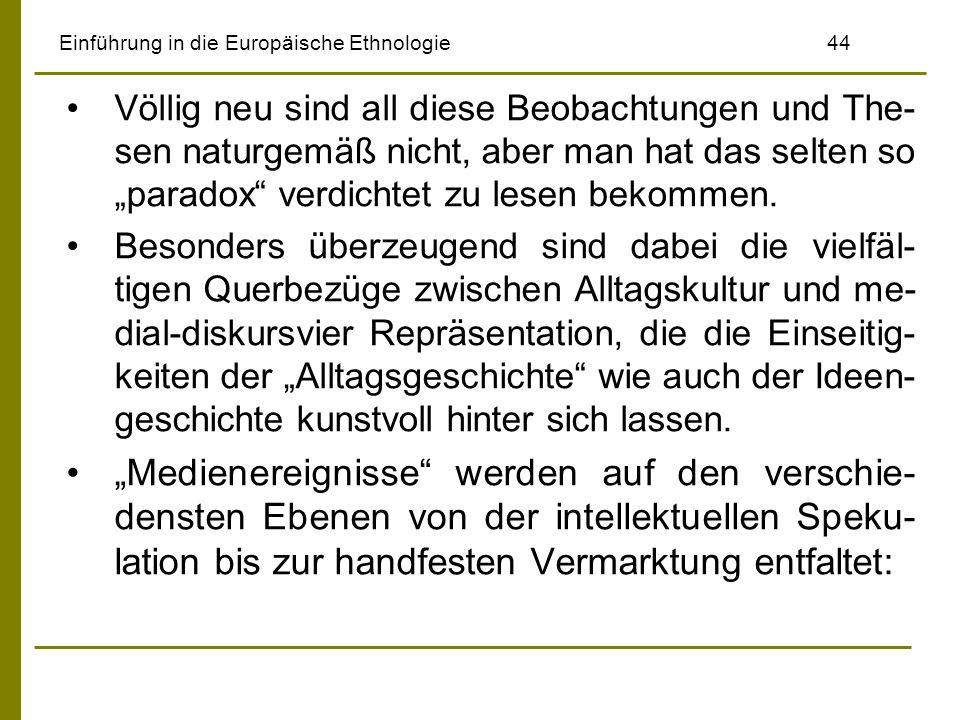 Einführung in die Europäische Ethnologie 44