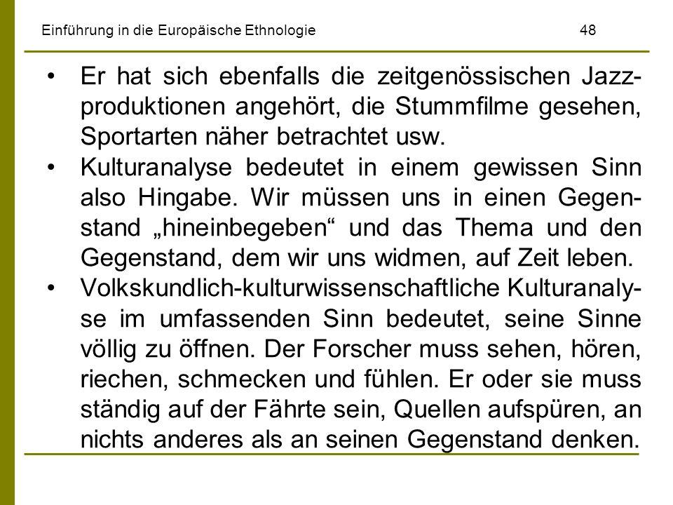 Einführung in die Europäische Ethnologie 48