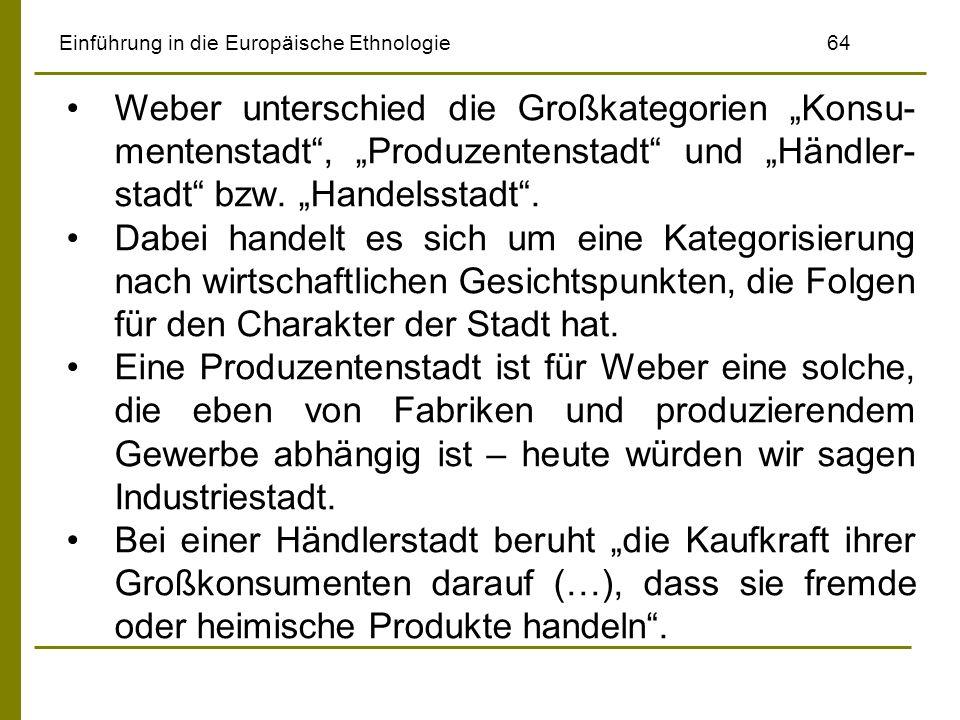 Einführung in die Europäische Ethnologie 64