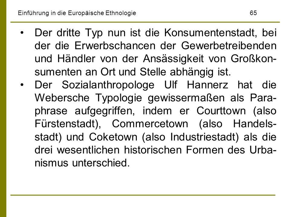 Einführung in die Europäische Ethnologie 65