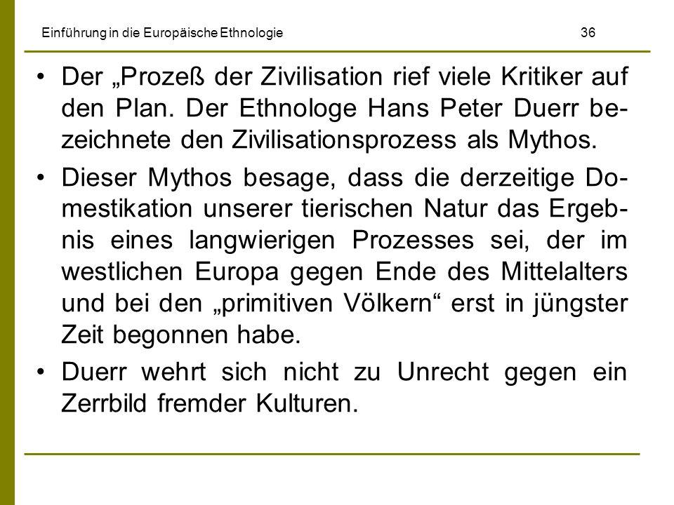 Einführung in die Europäische Ethnologie 36