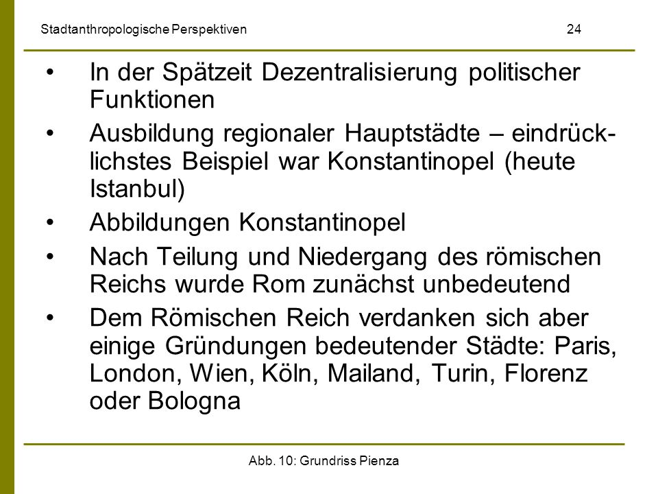 Stadtanthropologische Perspektiven 24