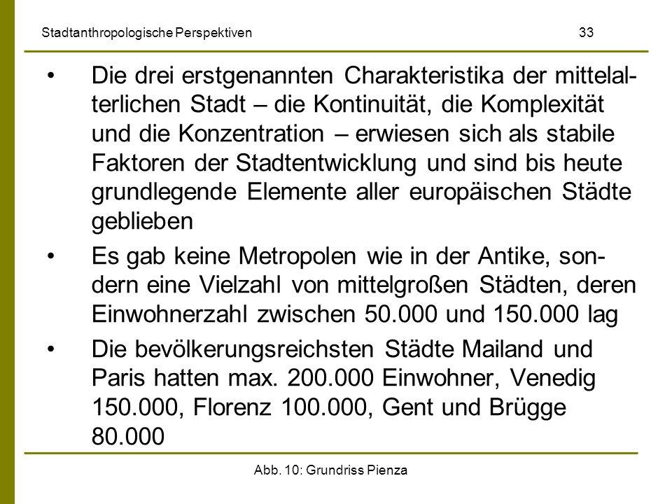 Stadtanthropologische Perspektiven 33