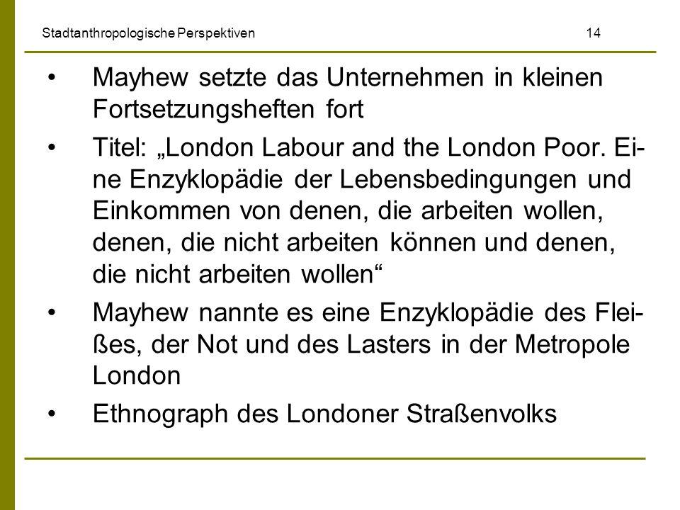 Stadtanthropologische Perspektiven 14