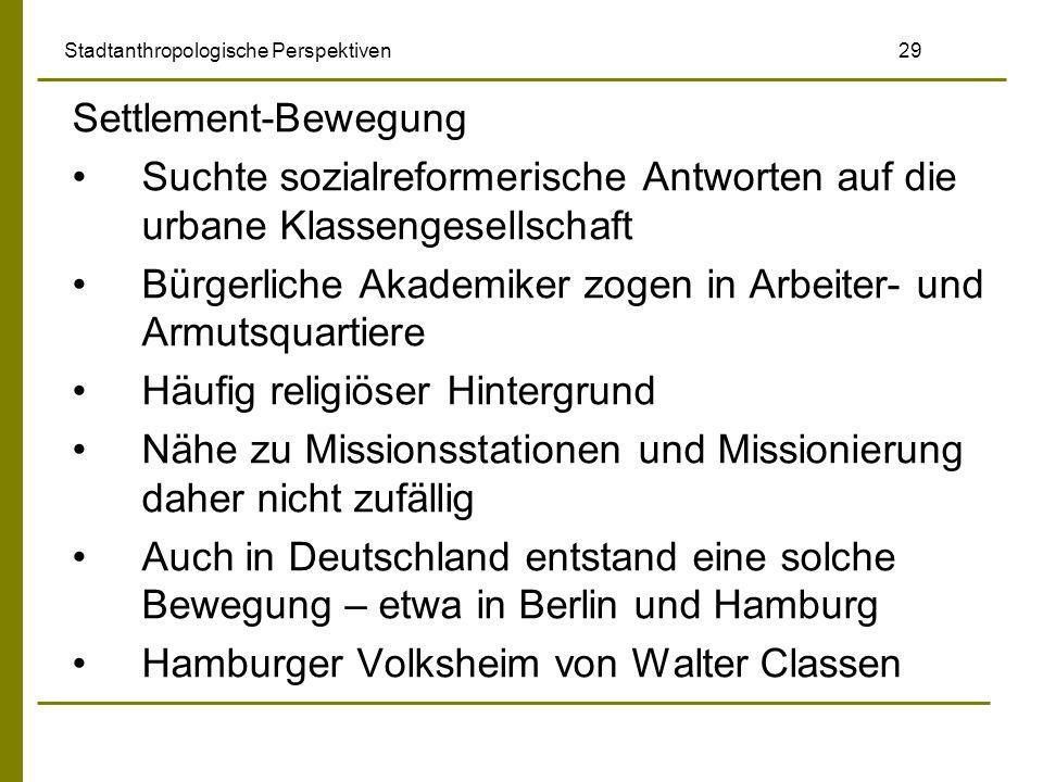 Stadtanthropologische Perspektiven 29