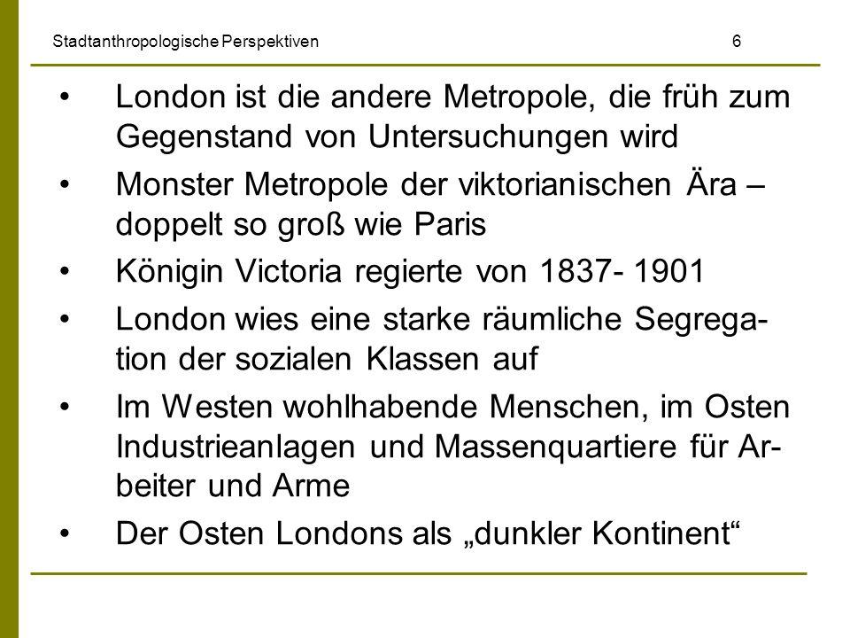 Stadtanthropologische Perspektiven 6