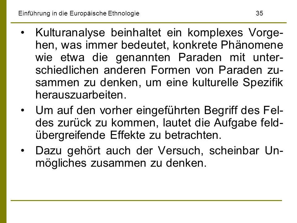 Einführung in die Europäische Ethnologie 35