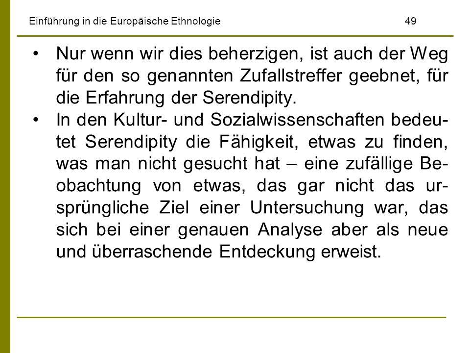 Einführung in die Europäische Ethnologie 49