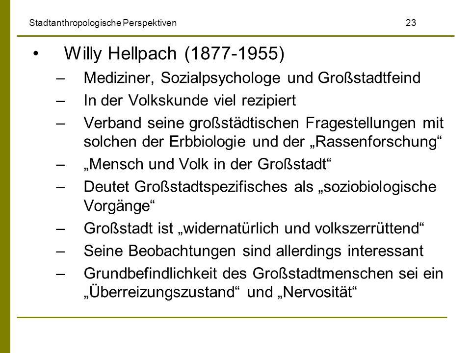 Stadtanthropologische Perspektiven 23
