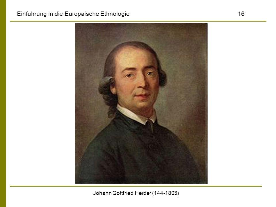 Einführung in die Europäische Ethnologie 16