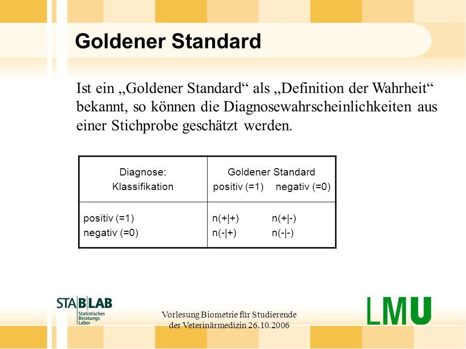 """Goldener Standard Ist ein """"Goldener Standard als """"Definition der Wahrheit"""