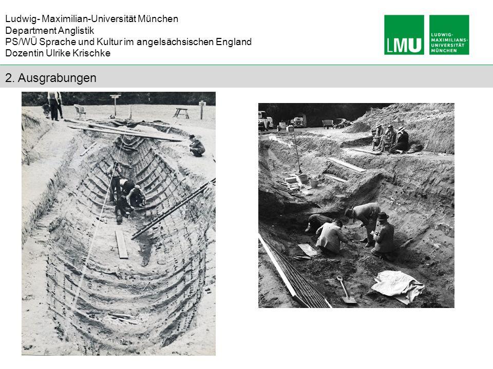 2. Ausgrabungen