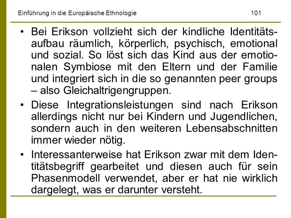 Einführung in die Europäische Ethnologie 101