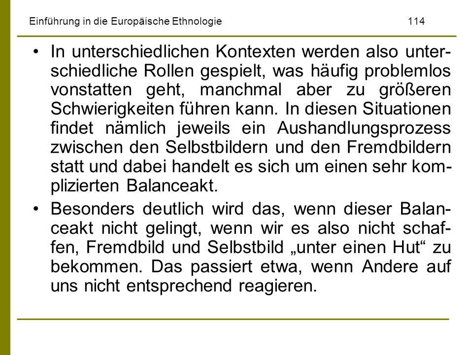 Einführung in die Europäische Ethnologie 114