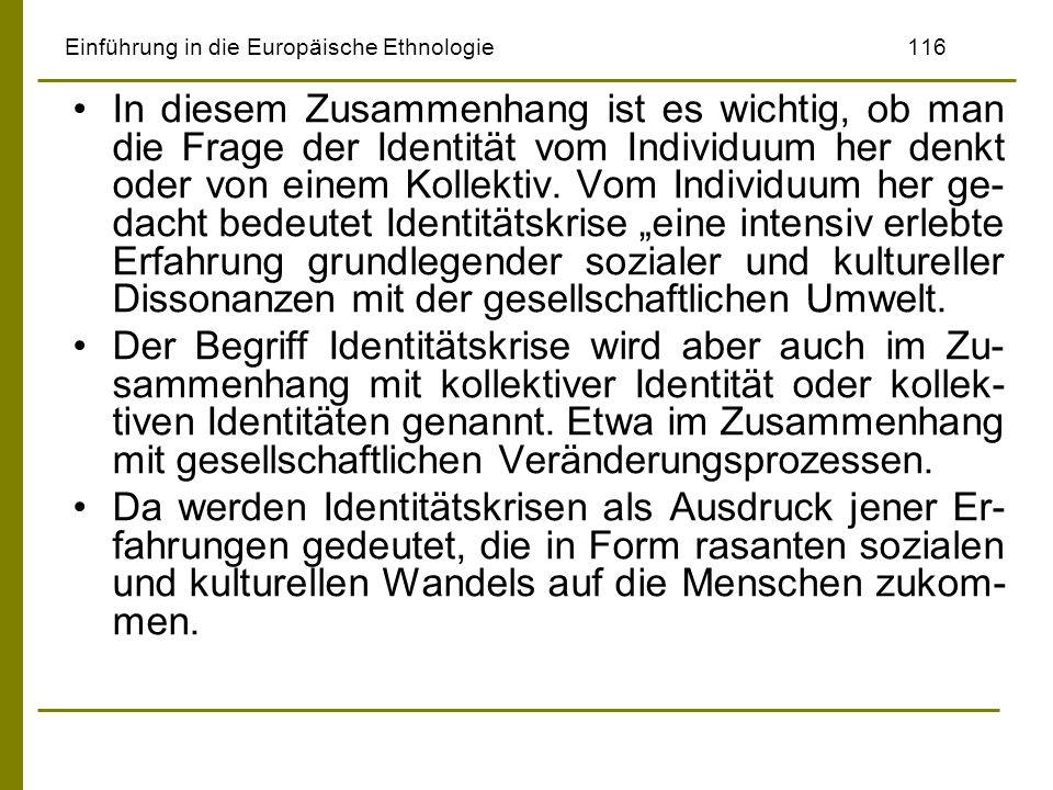 Einführung in die Europäische Ethnologie 116