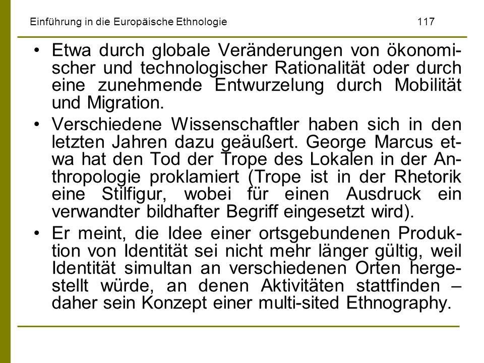 Einführung in die Europäische Ethnologie 117