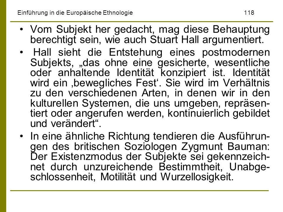Einführung in die Europäische Ethnologie 118