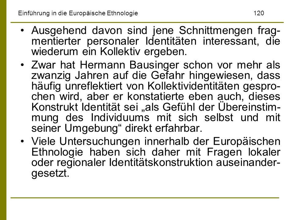 Einführung in die Europäische Ethnologie 120