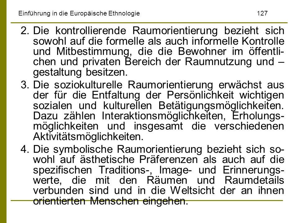 Einführung in die Europäische Ethnologie 127