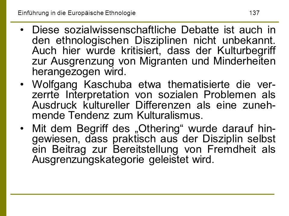 Einführung in die Europäische Ethnologie 137