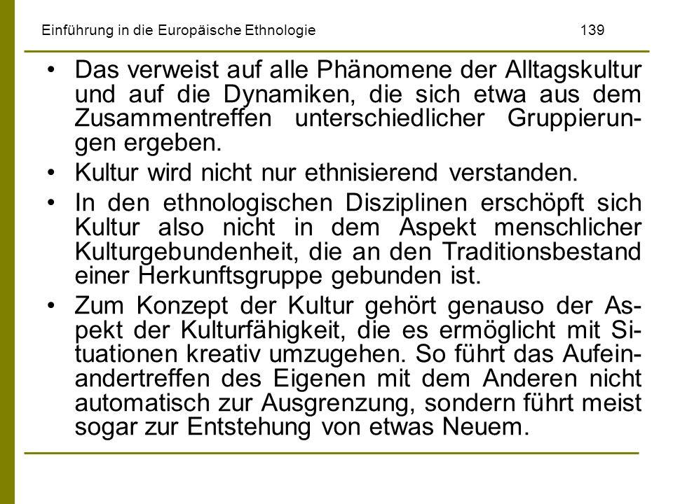 Einführung in die Europäische Ethnologie 139