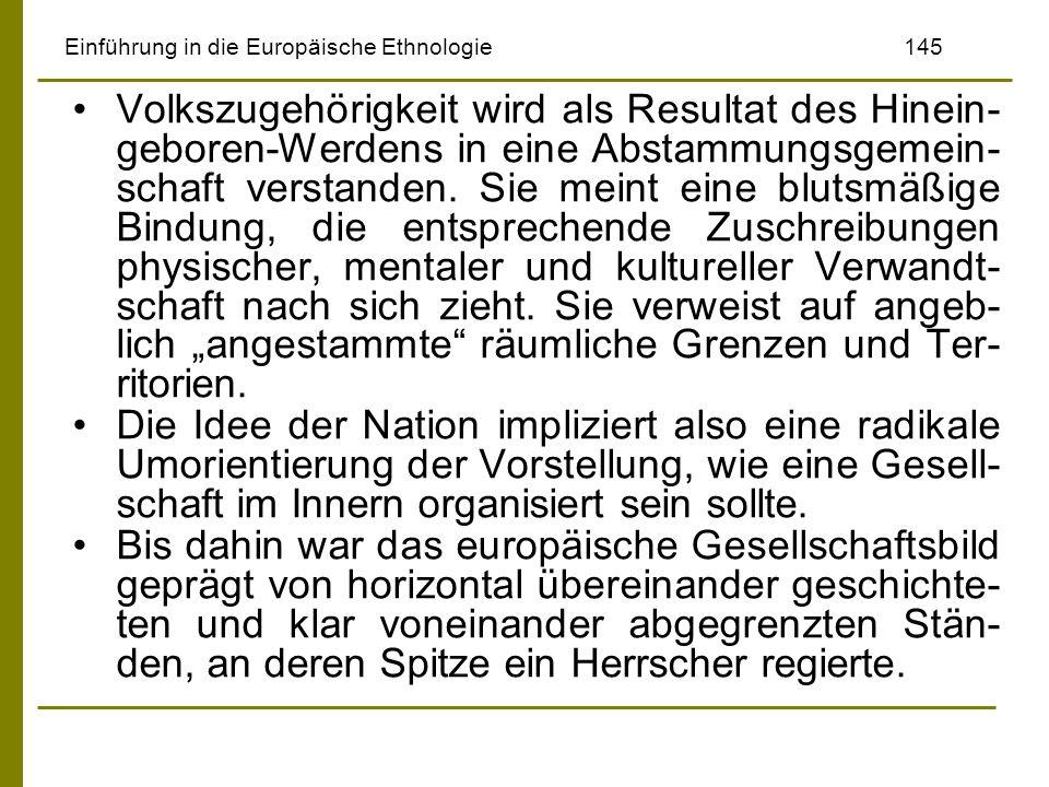 Einführung in die Europäische Ethnologie 145
