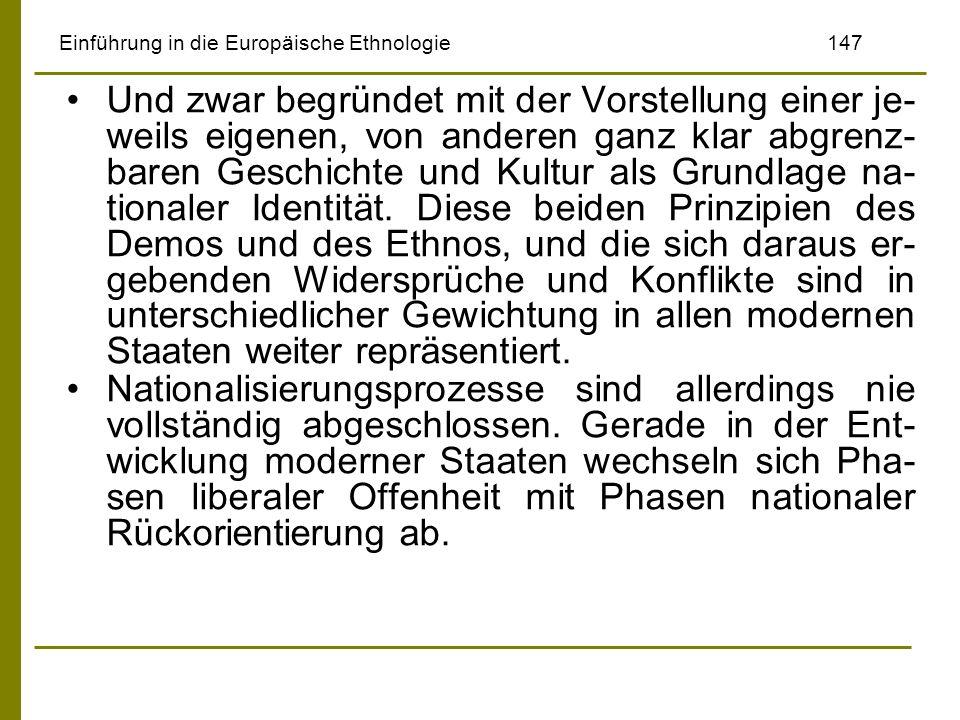 Einführung in die Europäische Ethnologie 147