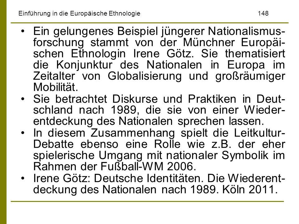 Einführung in die Europäische Ethnologie 148