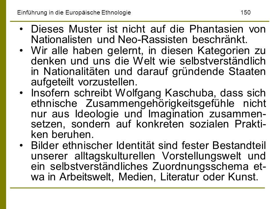 Einführung in die Europäische Ethnologie 150