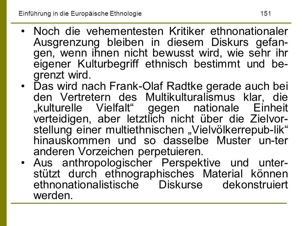 Einführung in die Europäische Ethnologie 151